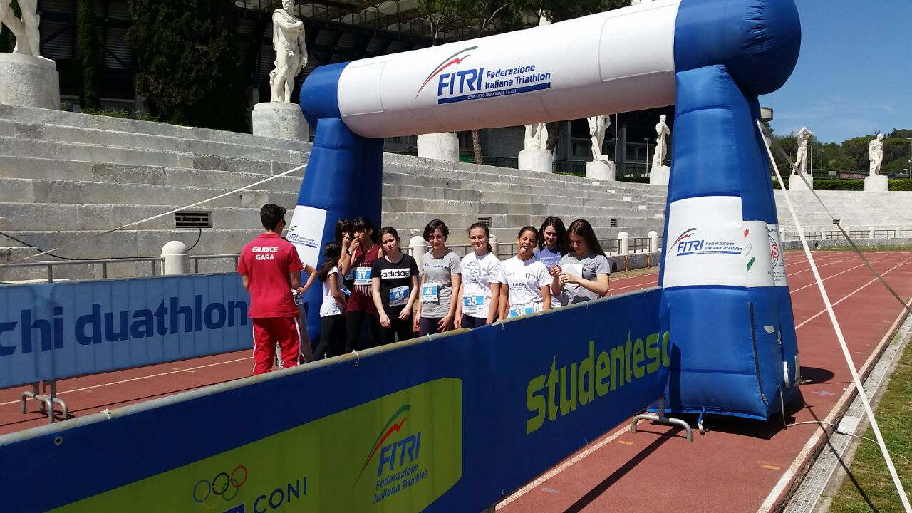 StudenteschiDuathlonLazio2017